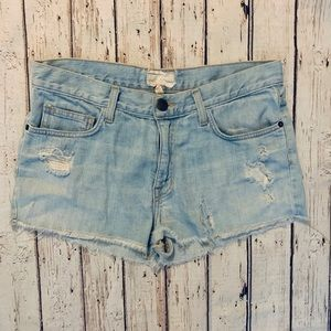 CURRENT/ELLIOTT Boyfriend Shorts Size 32